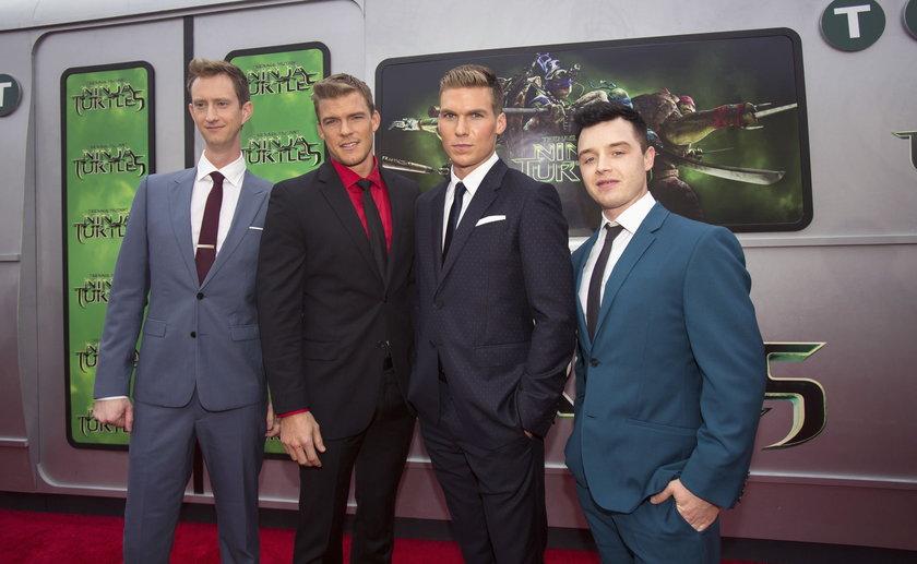 Gwiazdy na premierze w Los Angeles