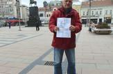 IS03 Zoran Miladinovic sa predlogom za izvrsenje u kojem je naveden njegov JMBG foto Branko Janackovic