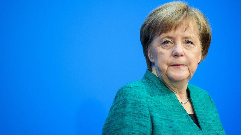 """Merkel """"zdradziła"""""""