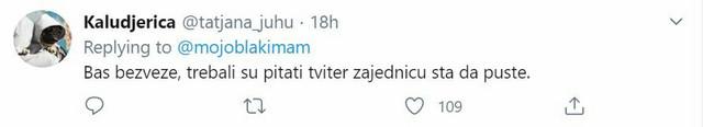 Šta kaže Tviter?