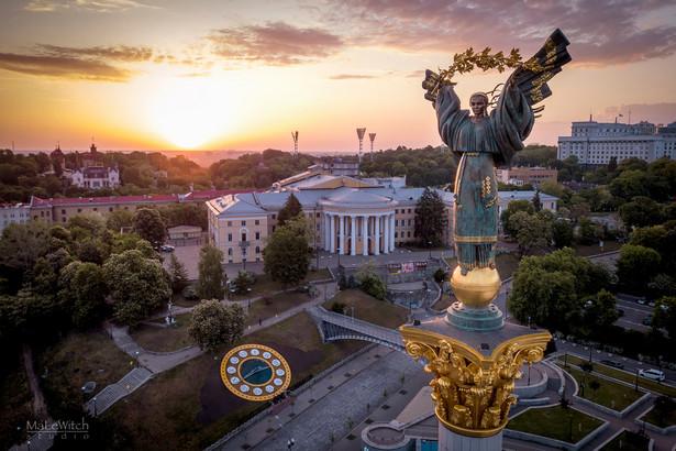 """Pomink """"Matka Ojczyzna"""" w Kijowie na Ukrainie"""