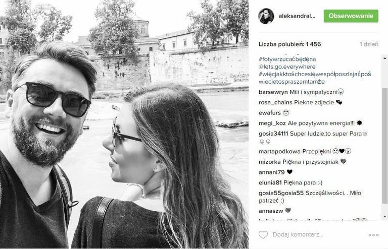 Post z Instagrama Oli Kwaśniewskiej