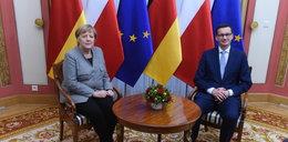 Merkel u Morawieckiego. O czym rozmawiali?