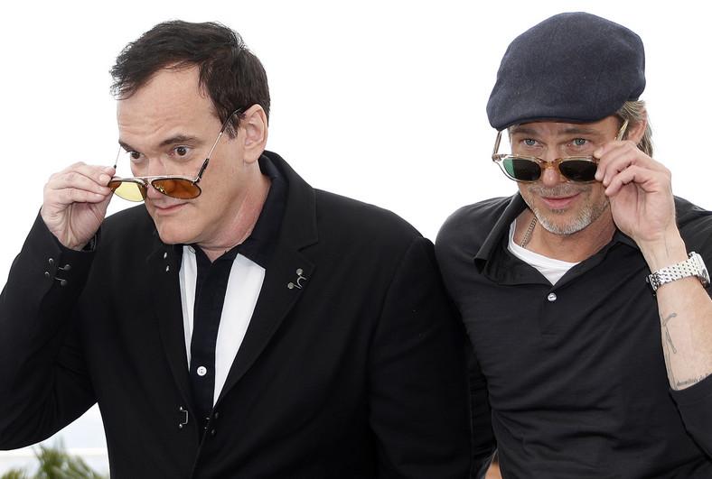 Quentin Tarantino i Brad Pitt