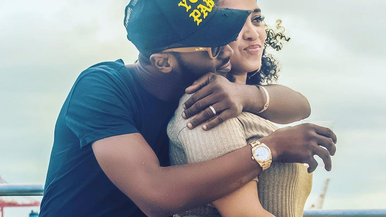 Ladies and gentlemen, lovers of the 'Koko master,' D'banj, you've got to check out the first video of the singer and his new son. [Instagram/IAMBangalee]
