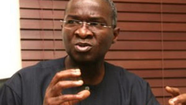 Minister of Power, Works and Housing, Babatunde Fashola.