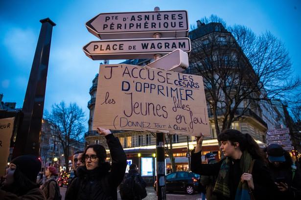 protesty przeciwko Romanowi Polańskiemu
