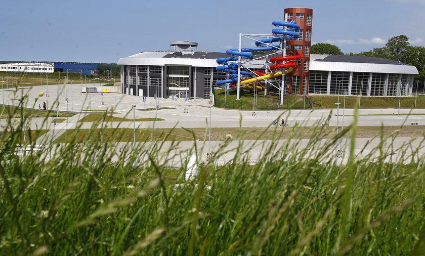 aquapark w Słupsku