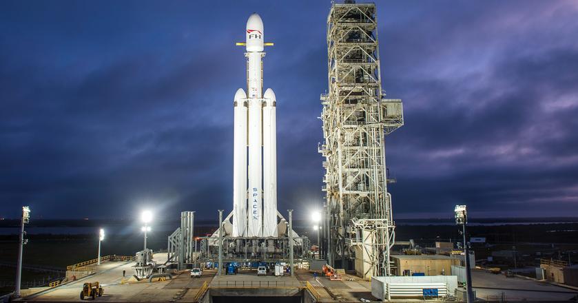 Falcon Heavy wystartuje z Przylądka Canaveral
