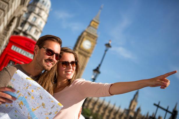 Turyści w Londynie