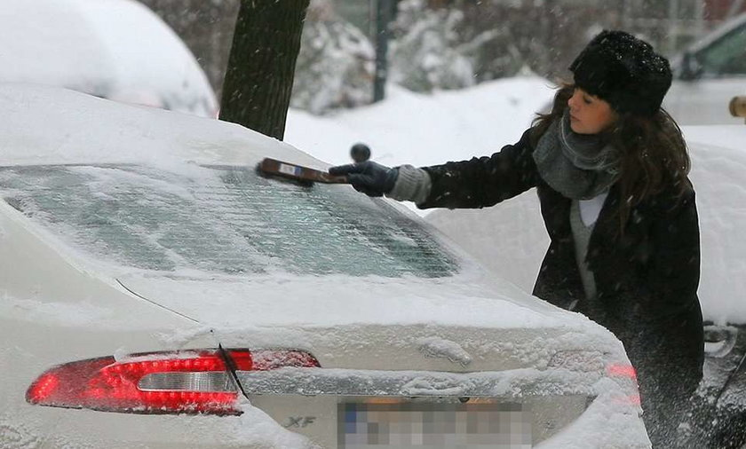 Rusin walczy z zimą