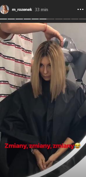 Małgorzata Rozenek Majdan ścięła Włosy Nowa Fryzura Gwiazdy
