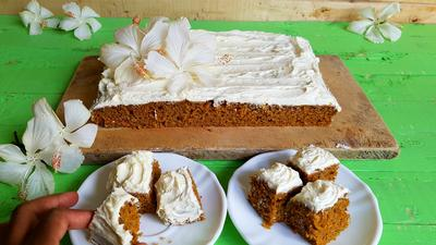Would you try this carrot cake recipe by Kaluhi's Kitchen?