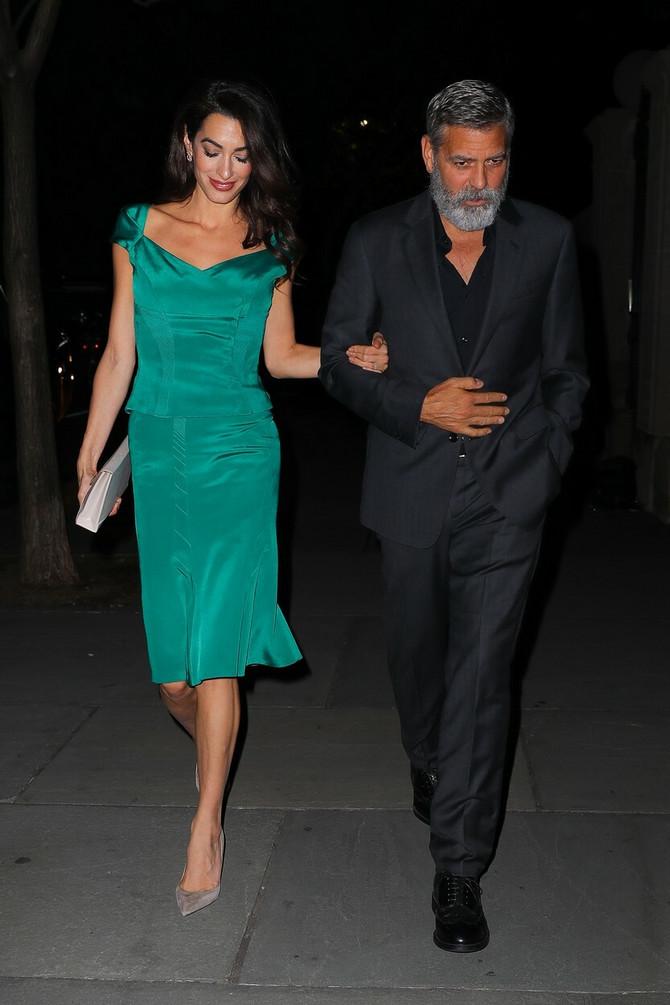 Amal Kluni sa suprugom Džordžem
