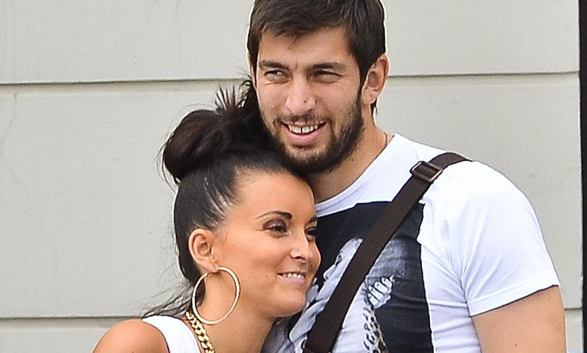 Dusan Kuciak z żoną