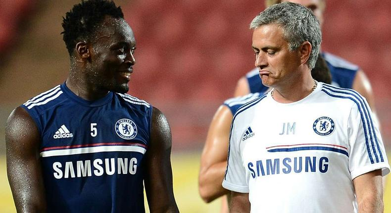 Mourinho nearly made Chelsea players train with shin pads because of Essien – Wright-Phillips