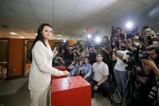Cichanouska uznała się za zwyciężczynię wyborów na Białorusi