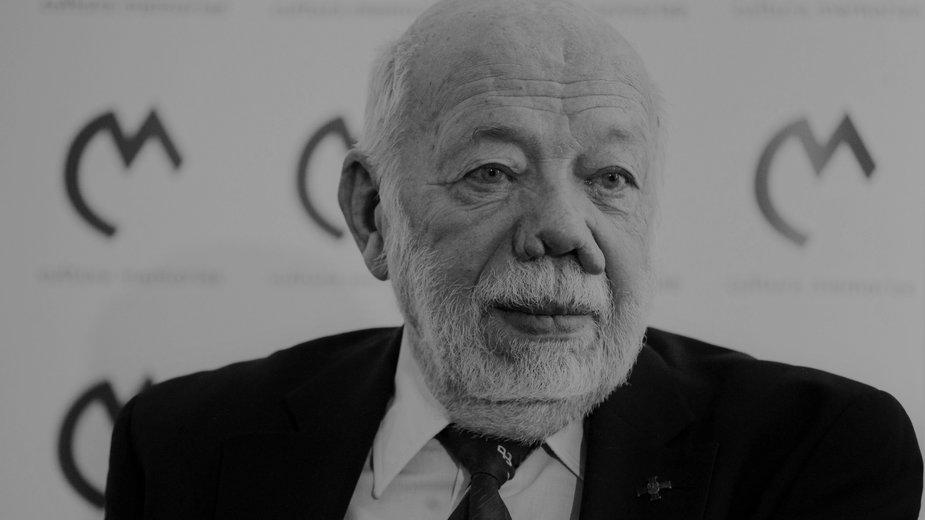 Prezes Związku Powstańców Warszawskich Zbigniew Galperyn