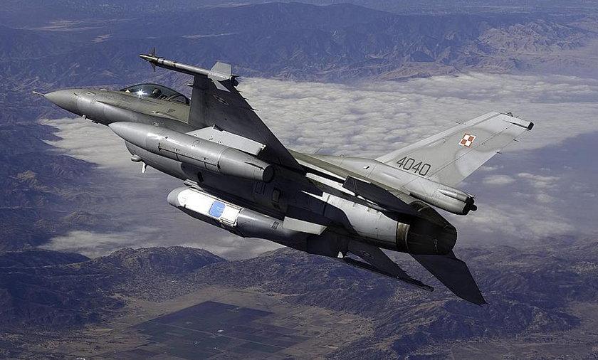 Polskie F-16 nad Syrią?