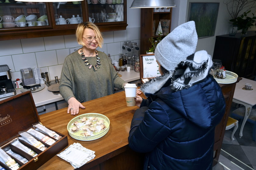 Przyjaciółki założyły herbaciarnię w Sobótce: Zapraszamy po herbatkę na wynos!