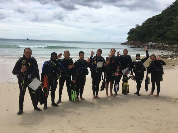 Kursy nurkowania w Asian Divers