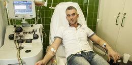 Oddał własne komórki, by ratować życie obcej osoby