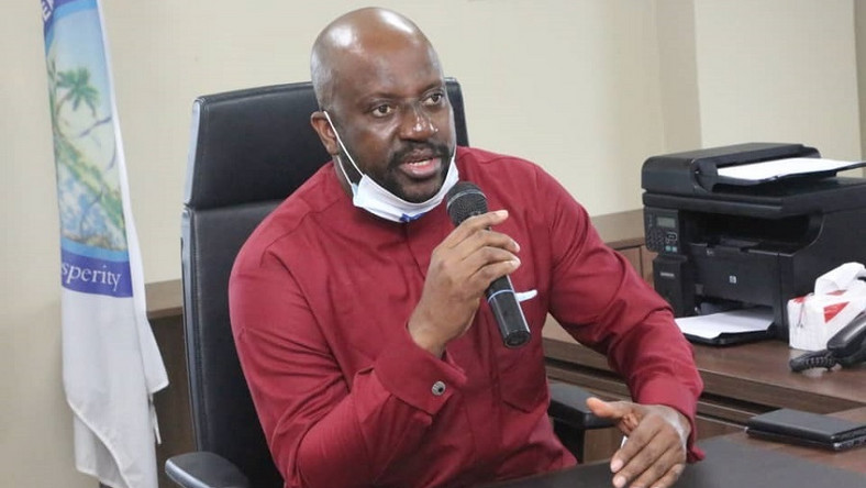 Prof. Kemebradikumo Pondei, the acting Managing Director of the Niger Delta Development Commission (NDDC). [nairametrics]