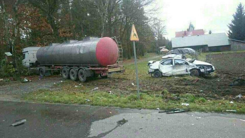 Tragiczny wypadek w Kozodrzy