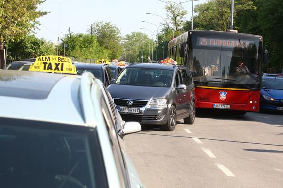 Protestne vožnje održane su krajem aprila
