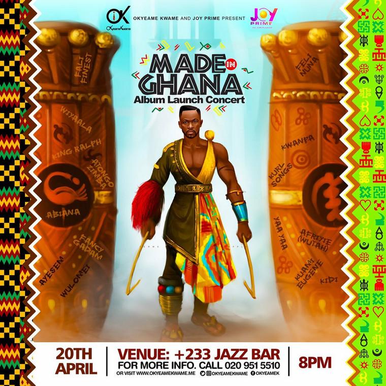 "Okyeame Kwame's ""Made in Ghana"" artwork"