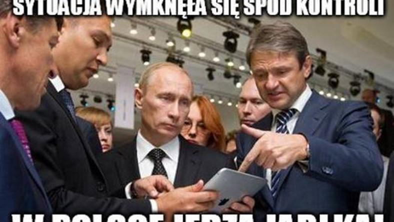 mem o jabłkach / Satyra polityczna
