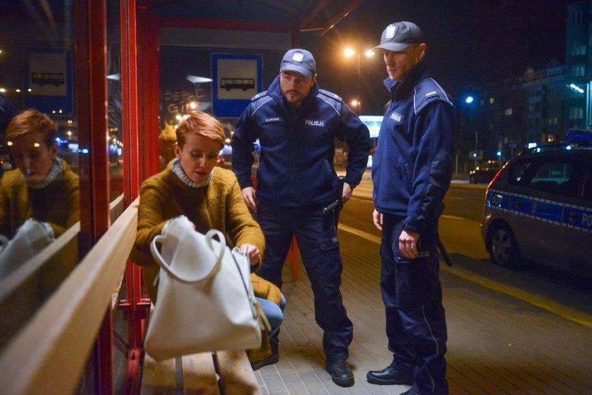 """Katarzyna Zielińska gra pijaną w """"Barwach szczęścia"""""""