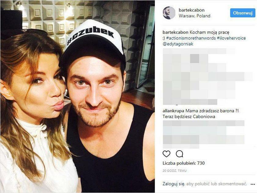 Bartek Caboń i Edyta Górniak