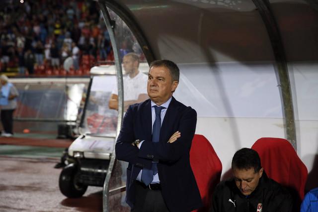 Ljubiša Tumbaković na meču Srbija - Portugal