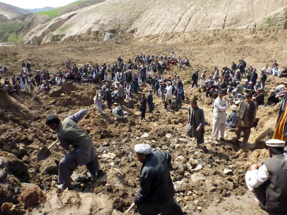 AFGHANISTAN LANDSLIDE AFTERMATH (Several hundred people feared dead after landslide in Afghanistan)