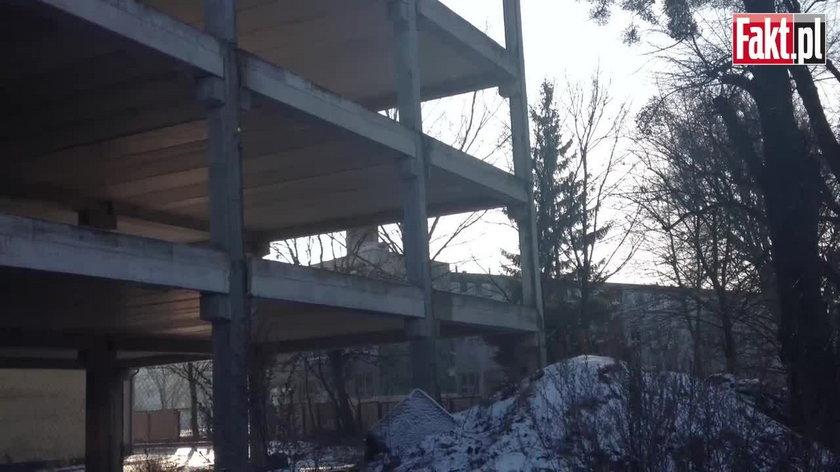 Budowa hotelu przy Trasie Słowackiego