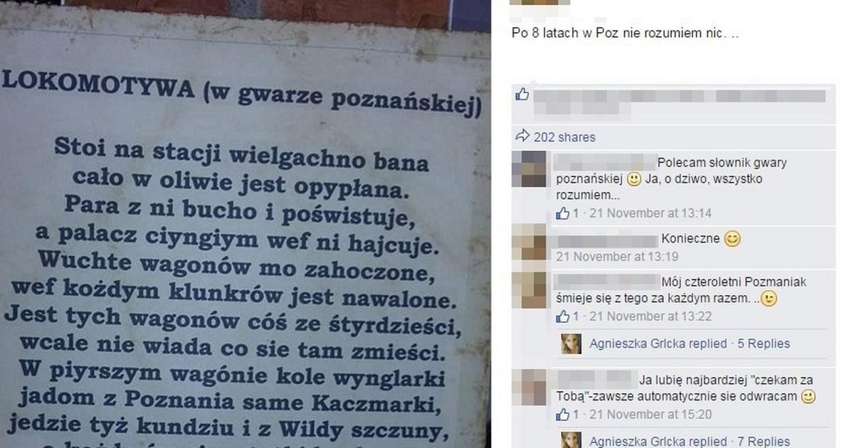 Lokomotywa W Gwarze Poznańskiej Sprawdź Czy Rozumiesz