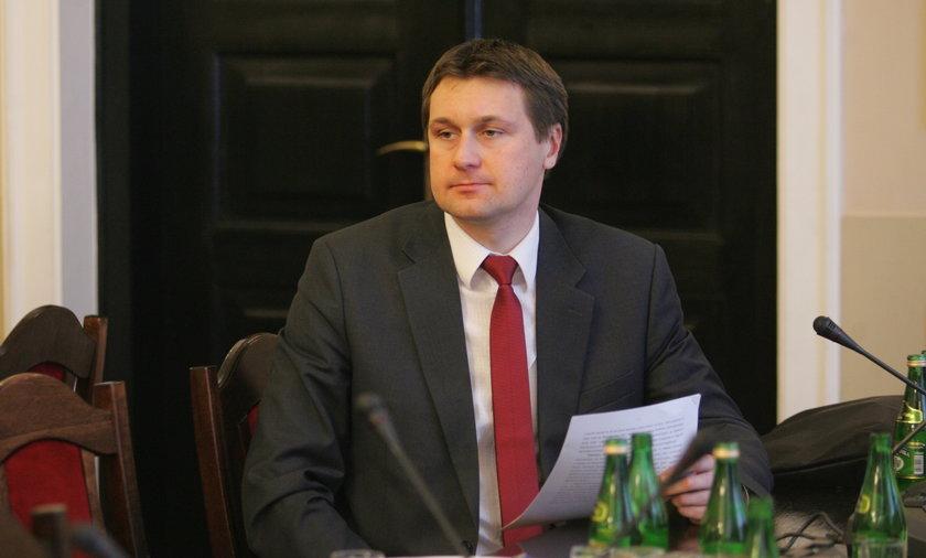 Poseł PiS Łukasz Zbonikowski