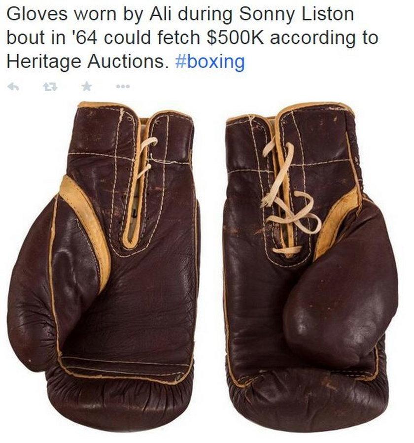 Te rękawice poszły za miliony!