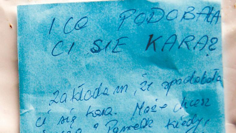 List,który znalazła Wanda Łyzwińska