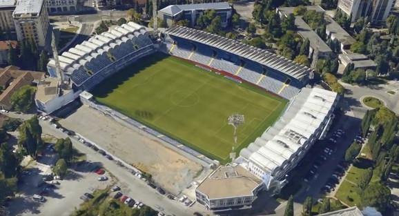 Stadion u Podgorici na kom će biti odigran meč
