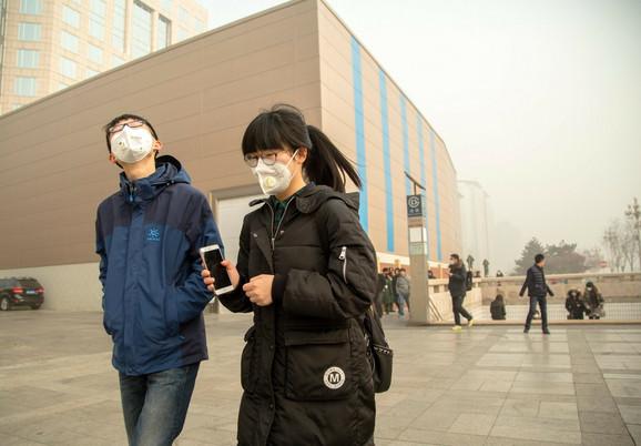 U Pekingu su navikli na nano maske