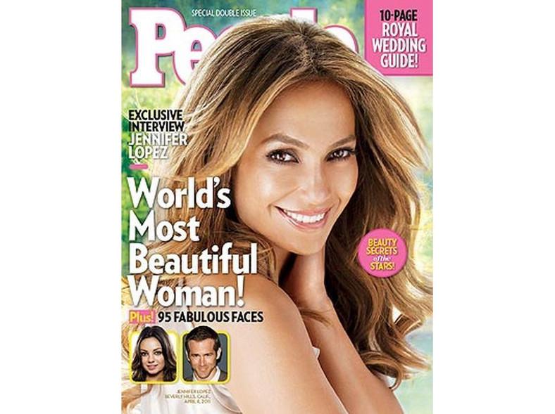 """Jennifer Lopez na okładce magazynu """"People"""""""