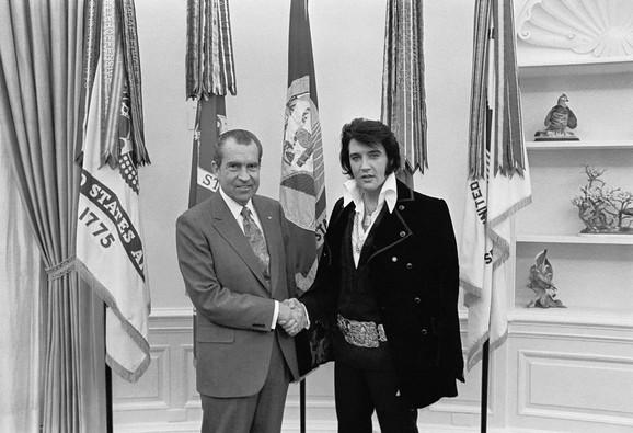 Elvis i predsednik