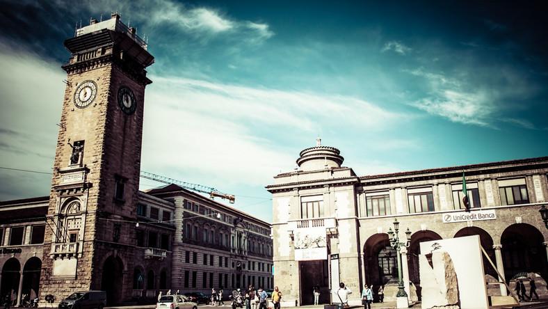 Piazza Vecchia, Bergamo, Włochy