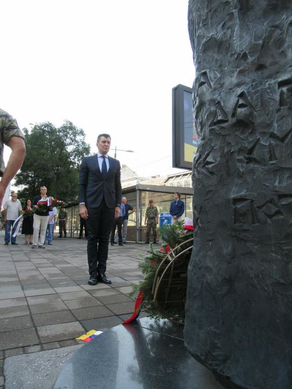 Zoran Đorđević: Nećemo zaboraviti stradanje civila i svih koji su se borili za oslobođenje zemlje