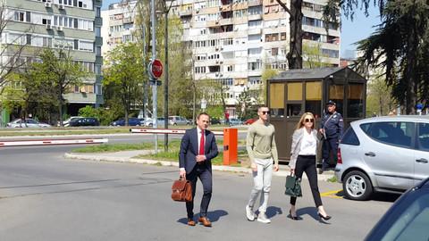 Ognjen Vranješ stigao na ročište sa Karleušom: Svi komentarišu ovakvo njegovo ponašanje! VIDEO