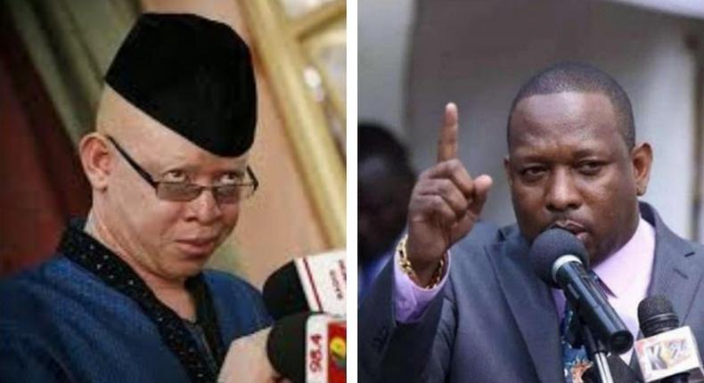 Looming war of words after nominated Senator Isaac Mwaura's badly insulted Nairobi Governor Mike Sonko