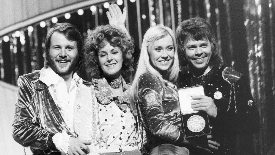 ABBA na Eurowizji w 1974 r.