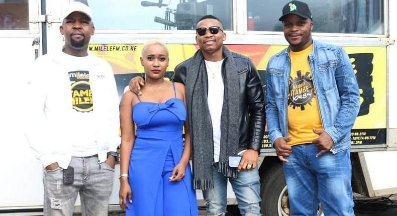 Alex Mwakideu, Jovial ,Otile Brown and Jalang'o
